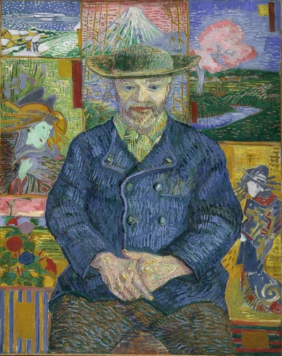 ゴッホ、ジュリアン・タンギーの肖像