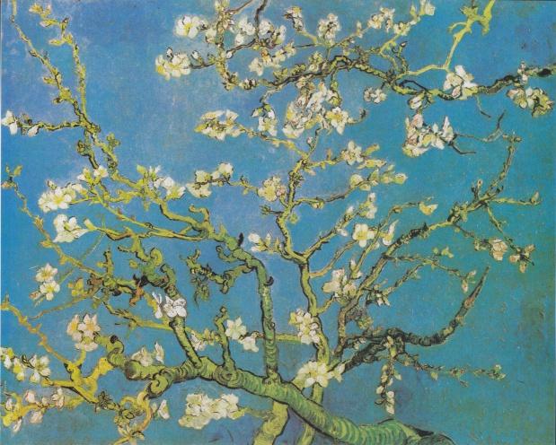 ゴッホ・アーモンドの木の花